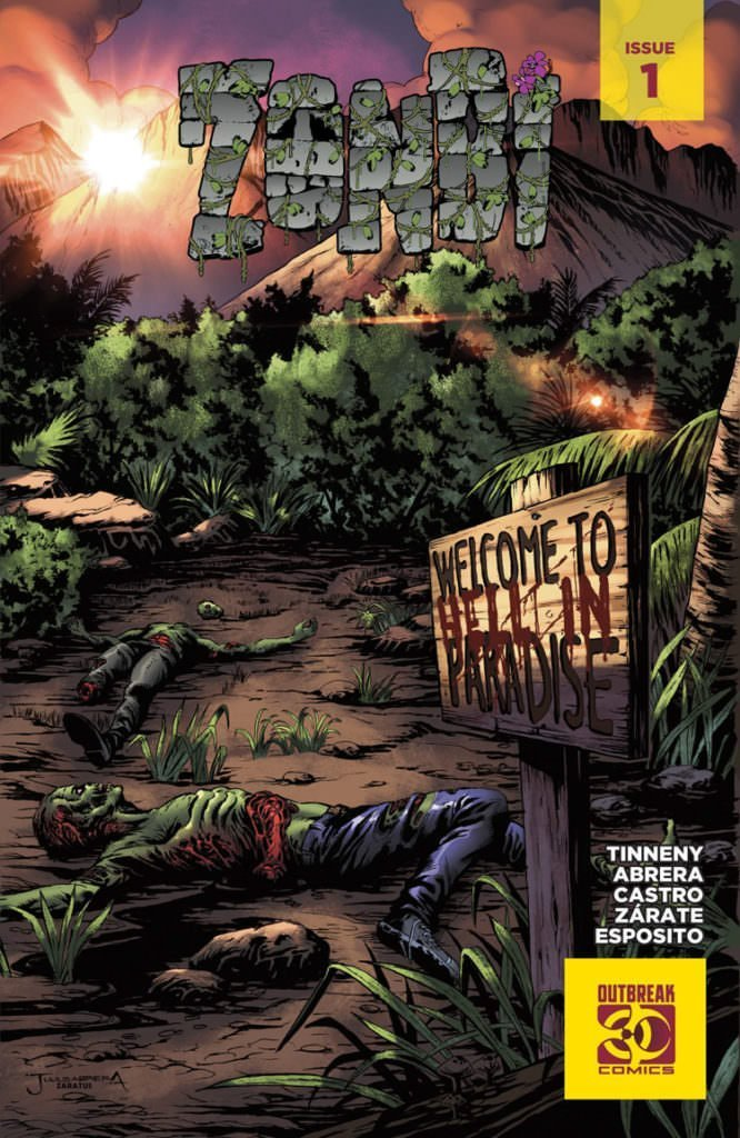 Zonbi Issue 1 Cover